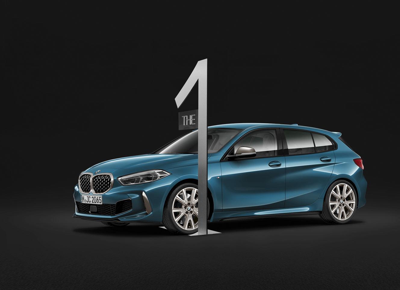 PLV réalisé pour BMW