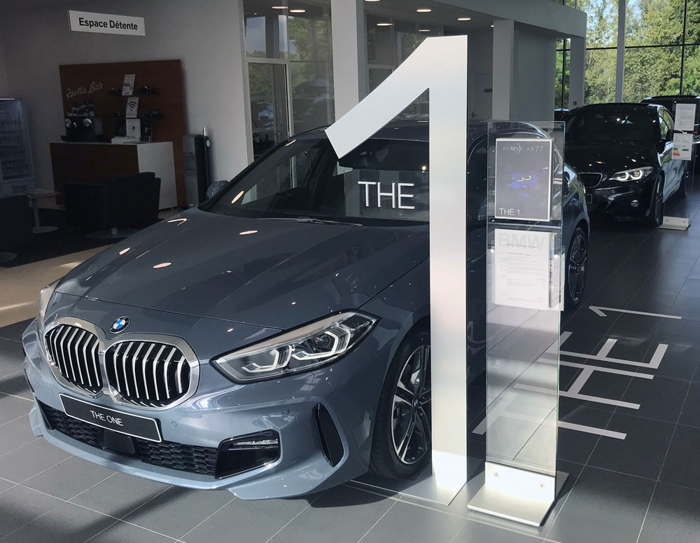 Vitrine - BMW